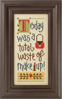 A Total Waste of Make Up! - Cross Stitch Pattern