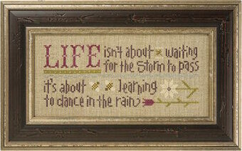 Dance in the Rain (with Charm, beads & Bonus Pattern)