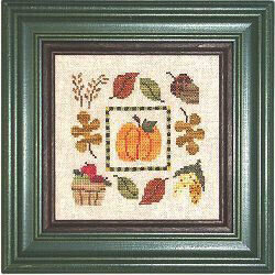 Autumn Boxer - Cross Stitch Kit