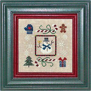 Winter Boxer - Cross Stitch Kit