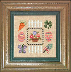 Spring Boxer - Cross Stitch Kit