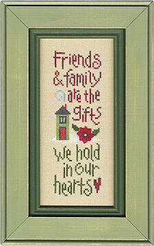 Friends & Family Boxer - Cross Stitch Kit