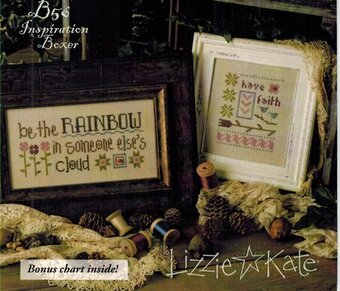 Lizzie Kate Be Still and Know That I Am God Boxer Cross Stitch Kit Charm
