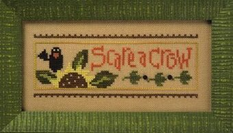 Halloween Rules Haunted House/Scare a Crow - Cross Stitch