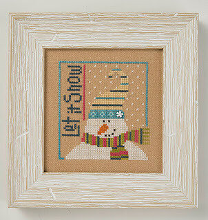 Let it Snow - 6 Fat Men Series - Cross Stitch Pattern