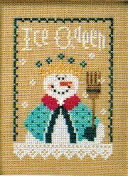 6 Snow Belles - Ice Queen - Cross Stitch Pattern