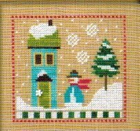 6 Snow Belles - Blizzard Babe - Cross Stitch Pattern