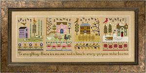 4 Seasons Flip-It Spring - Cross Stitch Pattern