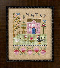 4 Seasons Flip-It Summer - Cross Stitch Pattern