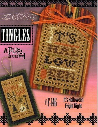 Tingles - It's Halloween/Fright Night - Cross Stitch Pattern