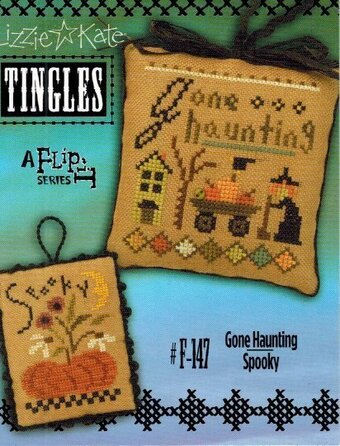 Tingles - Gone Haunting/Spooky - Cross Stitch Pattern