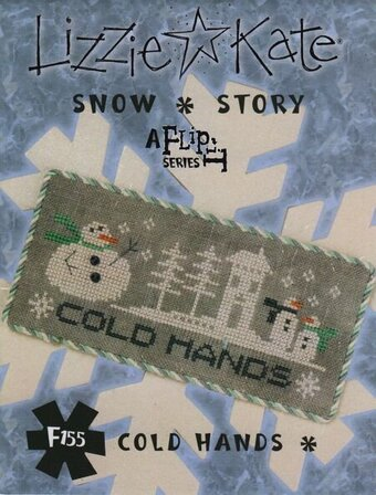 Cold Hands - Flip It Snow Story - Cross Stitch Pattern
