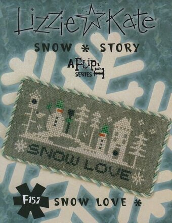 Snow Story - Snow Love - Cross Stitch Pattern