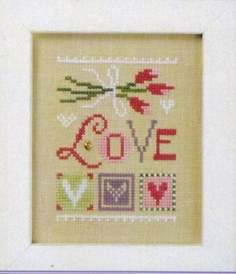 Celebrate with Charm - Love Flip It - Cross Stitch Pattern