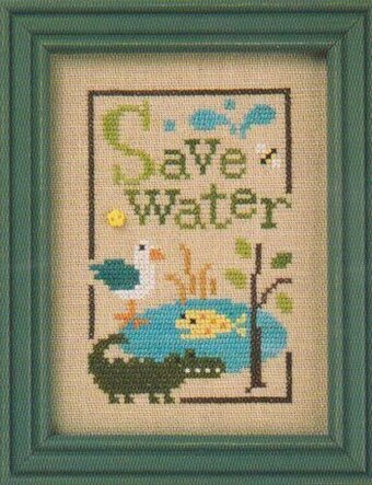 cross stitch pattern & buttons charm autumn by thecottageneedle