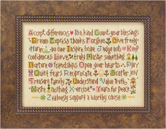 ABC Lessons - Cross Stitch Kit