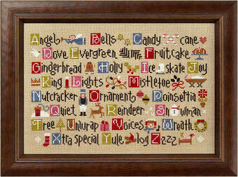 ABC Christmas - Cross Stitch Kit