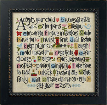 ABCs of Parenting - Cross Stitch Kit