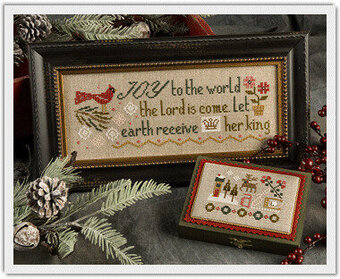 Joy to the World - Cross Stitch Pattern