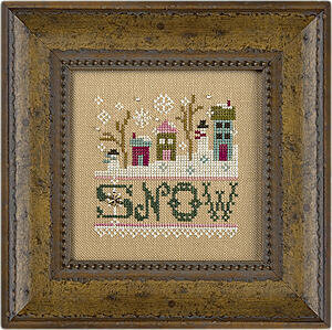 A Little Snow - Cross Stitch Kit