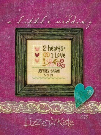 A Little Wedding - Cross Stitch Kit