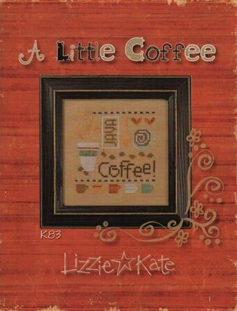 A Little Coffee - Cross Stitch Kit