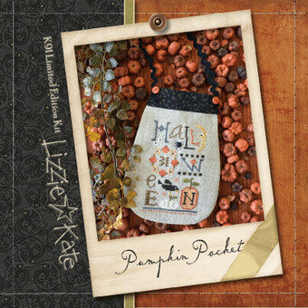 Pumpkin Pocket - Cross Stitch Kit