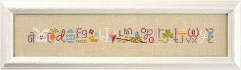 Spring String  - Cross Stitch Pattern