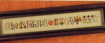 Thankful String - Cross Stitch Pattern