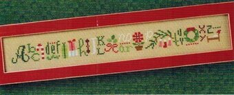 Merry String - Cross Stitch Pattern