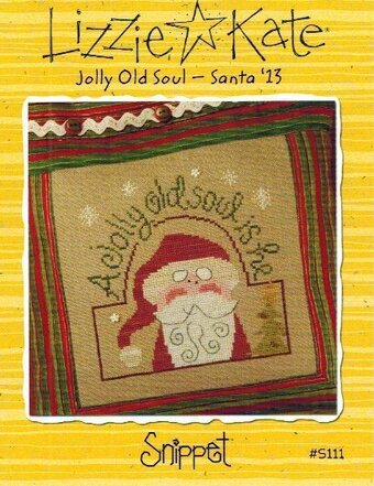 Jolly Old Soul - Santa '13 - Cross Stitch Pattern