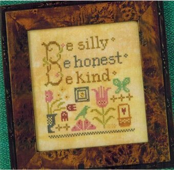 Be Silly - Cross Stitch Pattern