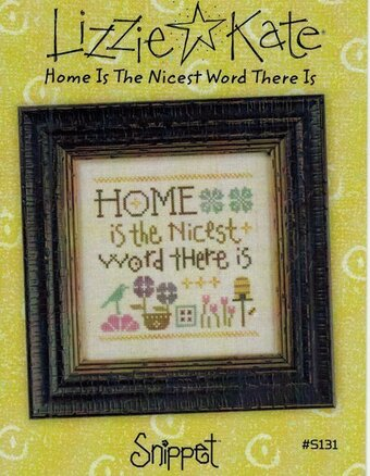 Home is the Nicest Word There Is - Cross Stitch Pattern