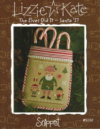 The Elves Did It - Santa '17 - Cross Stitch Pattern