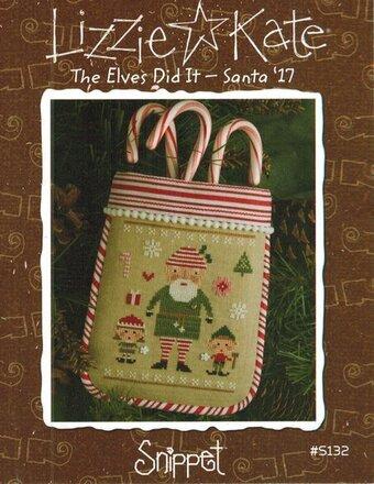 The Elves Did It - Santa '17 - Cross Stitch Pattern
