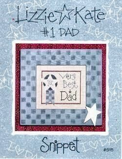 Number One Dad - Cross Stitch Pattern