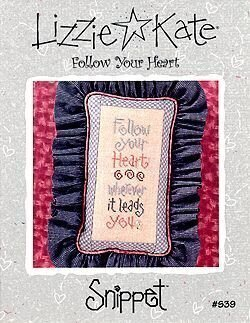 Follow Your Heart - Cross Stitch Pattern