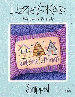 Welcome Friends - Cross Stitch Pattern