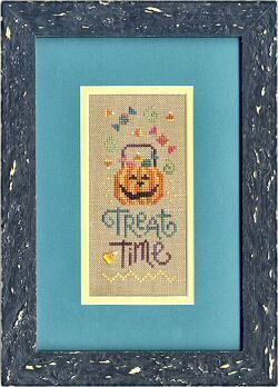 Treat Time - Cross Stitch Pattern