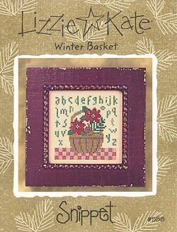 Winter Basket - Cross Stitch Pattern