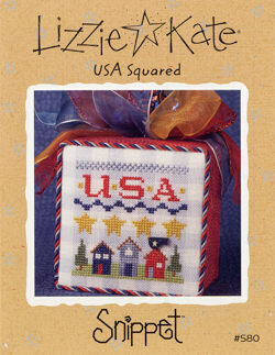 USA Squared - Cross Stitch Pattern