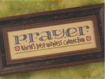 Prayer Connection - Cross Stitch Pattern