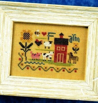 Farm Sampler - Flora McSample - Cross Stitch Pattern