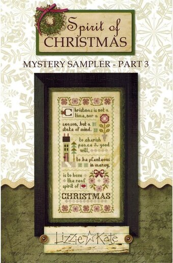 A Christmas Mystery.Spirit Of Christmas Mystery Sampler Part 3