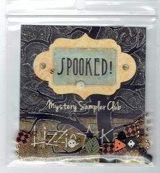 Embellishment Pack for Lizzie Kate Spooked Mystery Sampler