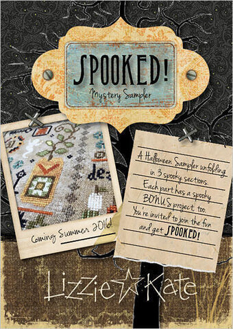 Lizzie Kate Spooked Mystery Sampler Part 1