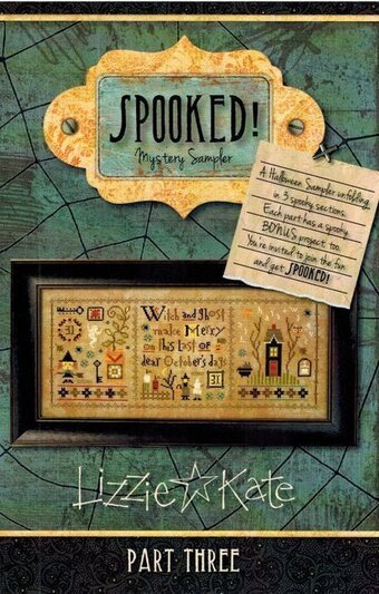 Lizzie Kate Spooked Mystery Sampler Part 3
