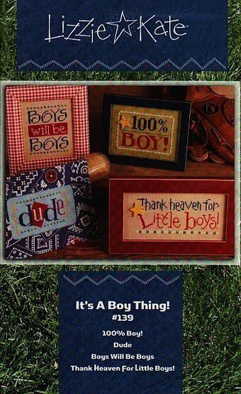 It's a Boy Thing! - Cross Stitch Pattern