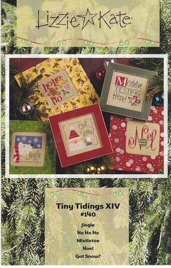Tiny Tidings XIV - Cross Stitch Pattern