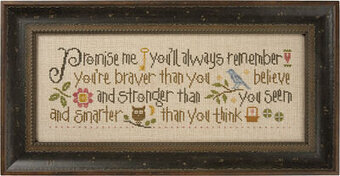 Promise Me - Cross Stitch Pattern